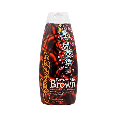 Ed Hardy Butter Me Brown Tanning Lotion - LuxuryBeautySource.com