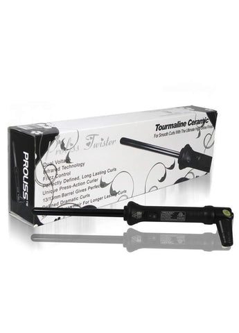 Proliss Black Twister Hair Curler - LuxuryBeautySource.com