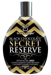 Tan Incorporated Black Chocolate Secret Reserve Tanning Lotion - LuxuryBeautySource.com
