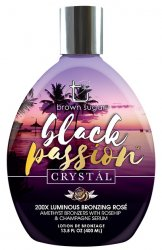 Tan Incorporated Black Passion Crystal 200X Tanning Lotion - LuxuryBeautySource.com