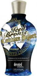 Devoted Creations Iced Bronzed Couture Sport Tanning Lotion - LuxuryBeautySource.com