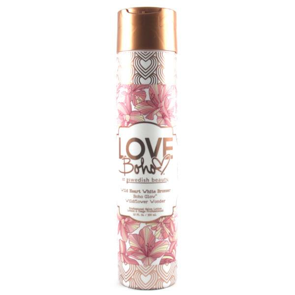 Swedish Beauty Love Boho Wild Heart White Bronzer Tanning Lotion