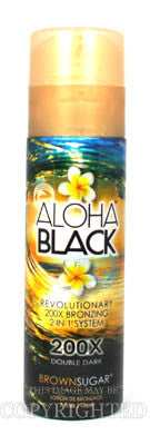 Tan Incorporated Brown Sugar Aloha Black Tanning Lotion - LuxuryBeautySource.com