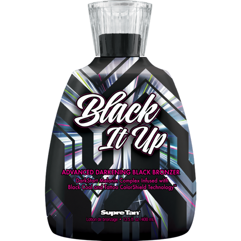 Supre Tan Black it Up Tanning Lotion - LuxuryBeautySource.com