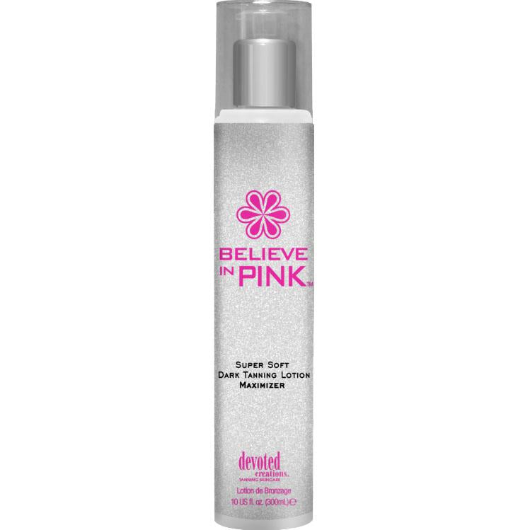 Devoted Creations Believe In Pink Maximizer Tanning Lotion - LuxuryBeautySource.com