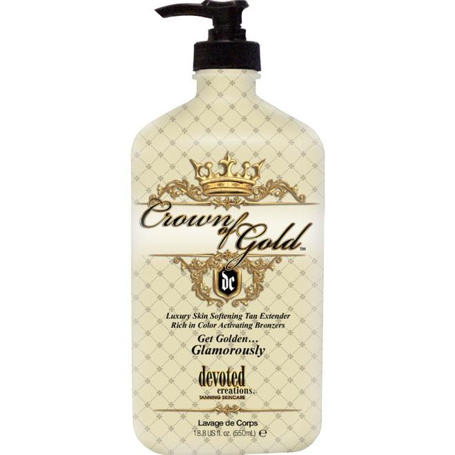 Devoted Creations Crown Of Gold Moisturizer - LuxuryBeautySource.com