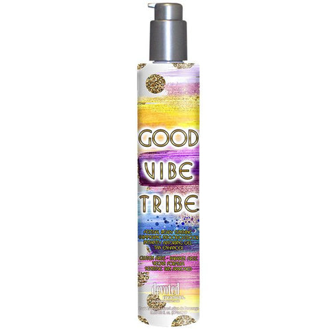 Devoted Creations Good Vibe Tribe Tanning Lotion - LuxuryBeautySource.com