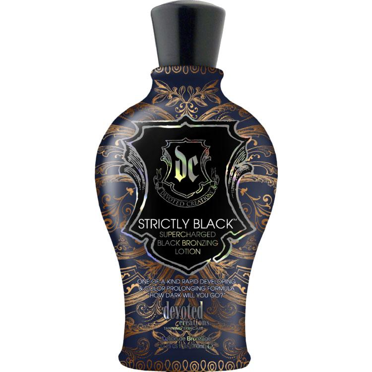 Devoted Creations Strictly Black Tanning Lotion - LuxuryBeautySource.com