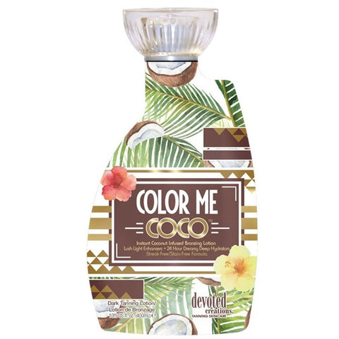 Devoted Creations Color Me Coco Instant Bronzing Tanning Lotion - LuxuryBeautySource.com