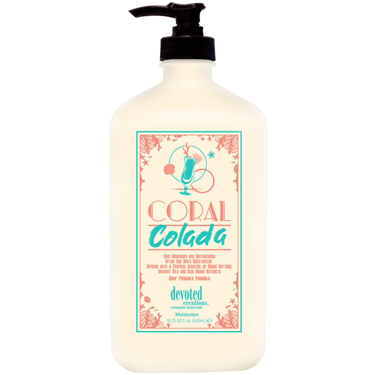 Devoted Creations Coral Colada Daily Moisturizer - LuxuryBeautySource.com