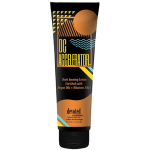 Devoted Creations DC Accelerator Dark Tanning Lotion - LuxuryBeautySource.com