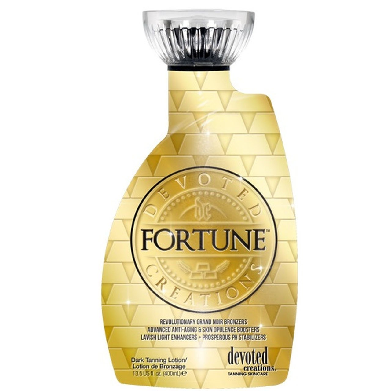 Devoted Creations Fortune Grand Noir Bronzer Tanning Lotion - LuxuryBeautySource.com