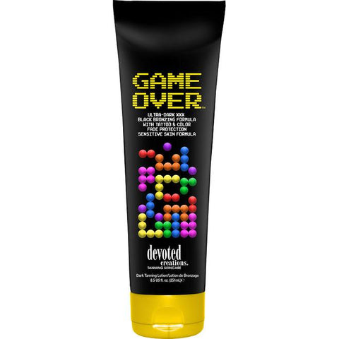 Devoted Creations Game Over Tanning Lotion - LuxuryBeautySource.com