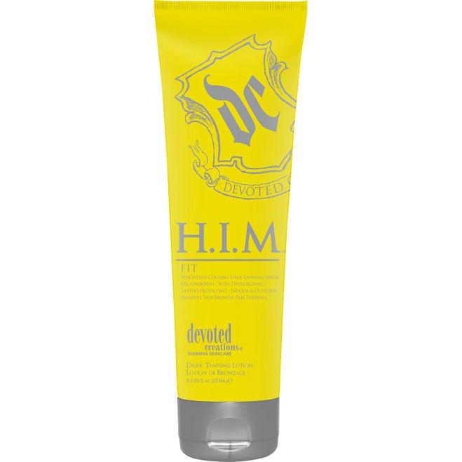 Devoted Creations H.I.M. Fit Tanning Lotion - LuxuryBeautySource.com