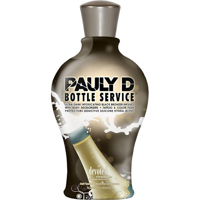 Devoted Creations Pauly D Bottle Service Tanning Lotion - LuxuryBeautySource.com