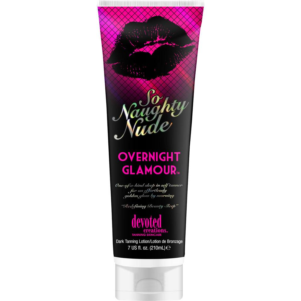 Devoted Creations So Naughty Nude Overnight Glamour Sunless Lotion - LuxuryBeautySource.com