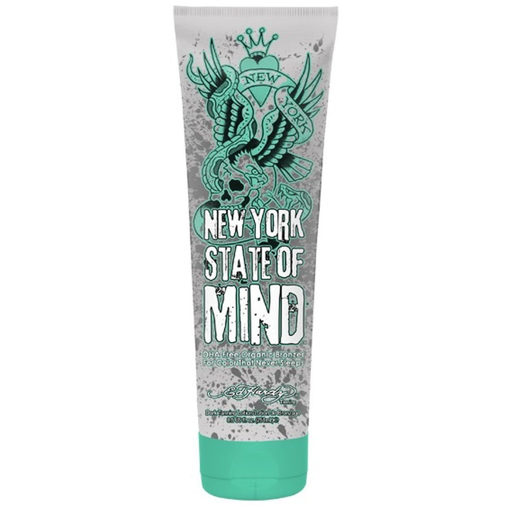 Ed Hardy New York State of Mind Tanning Lotion - LuxuryBeautySource.com