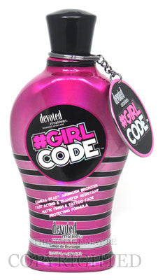 Devoted Creations Girl Code Tanning Lotion - LuxuryBeautySource.com