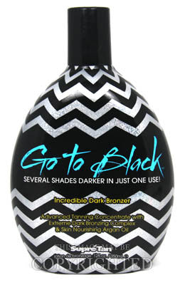 Supre Go to Black Incredible Dark Bronzer Tanning Lotion - LuxuryBeautySource.com