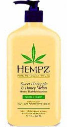 Hempz Pineapple Melon Moisturizer/ After Tanning - LuxuryBeautySource.com