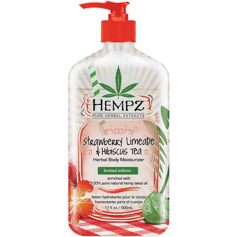 Hempz Strawberry Limeade & Hibiscus Tea Body Moisturizer - LuxuryBeautySource.com