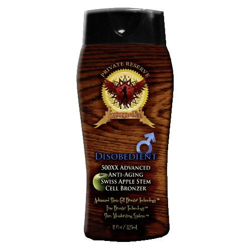 Immoral Disobedient (for Men) Tanning Lotion - LuxuryBeautySource.com
