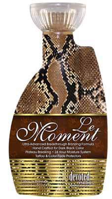 Devoted Creations Le Moment Tanning Lotion - LuxuryBeautySource.com