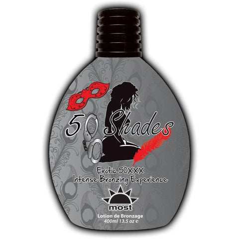 Most 50 Shades Tanning Lotion - LuxuryBeautySource.com