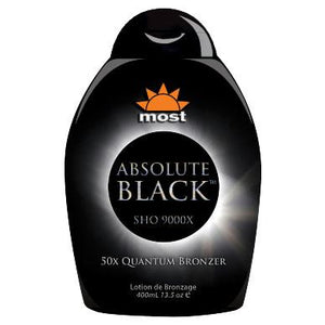 Most Absolute Black Tanning Lotion - LuxuryBeautySource.com