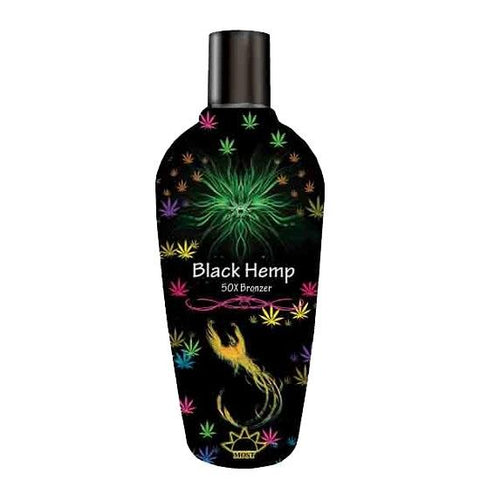 Most Black Hemp 50X Bronzer Tanning Lotion - LuxuryBeautySource.com