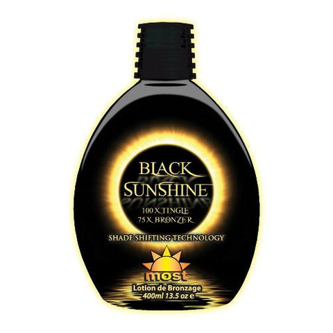 Most Black Sunshine Tanning Lotion - LuxuryBeautySource.com