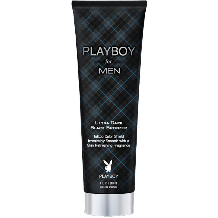 Playboy / Pro Tan for Men Ultra Dark Black Bronzer Tanning Lotion - LuxuryBeautySource.com