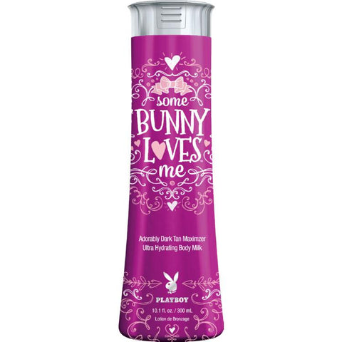 Playboy Some Bunny Loves Me Tanning Lotion - LuxuryBeautySource.com