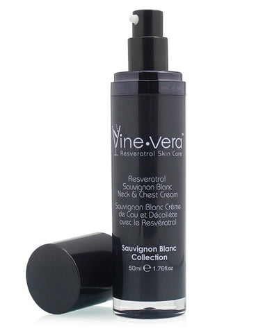 Vine Vera Resveratrol Sauvignon Blanc Neck and Chest Cream - LuxuryBeautySource.com