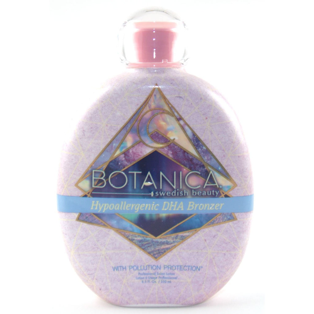 Swedish Beauty Botanica Pollution Protection Hypoallergenic DHA Bronzer Tanning Lotion - LuxuryBeautySource.com