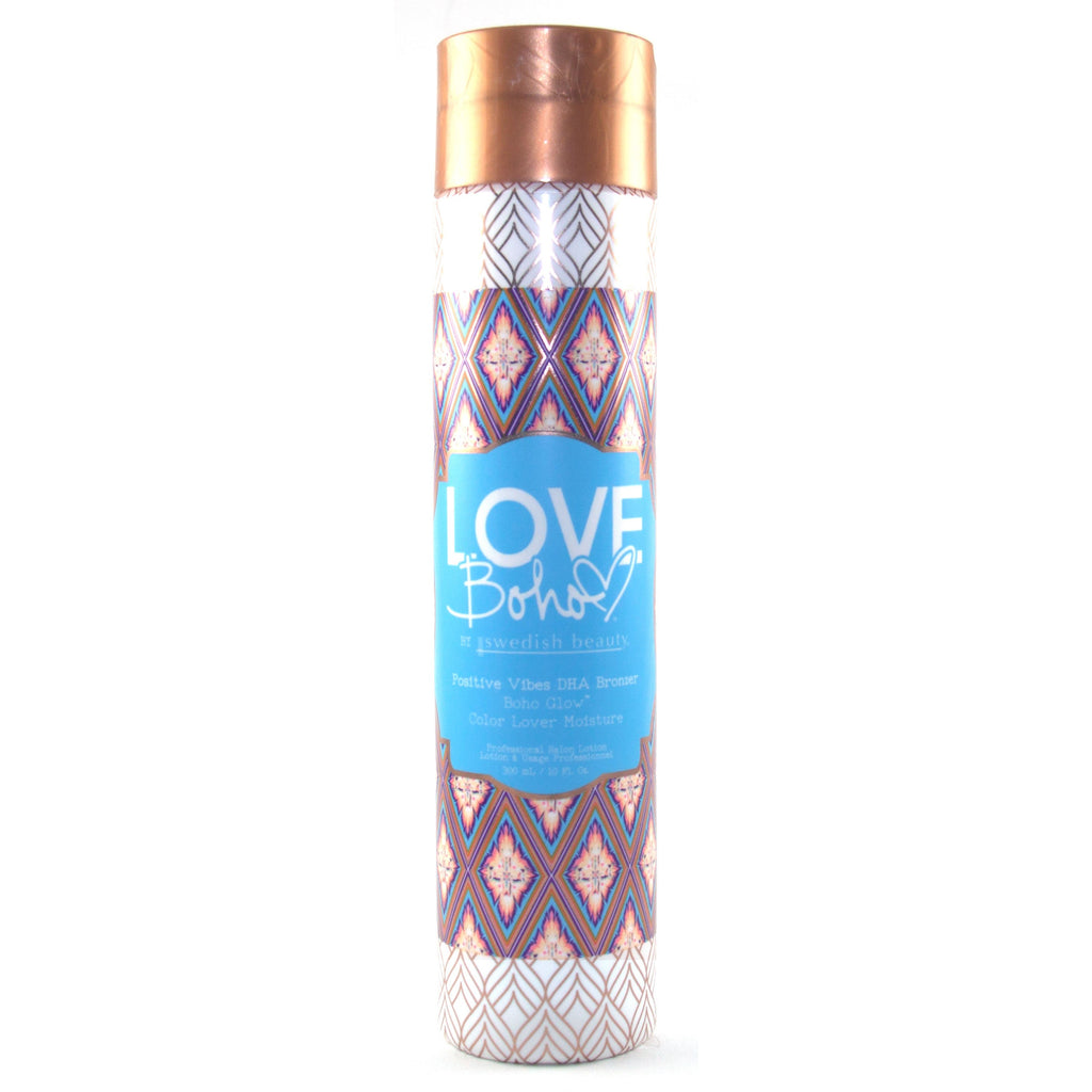 Swedish Beauty Love Boho Positive Vibes DHA Bronzer Tanning Lotion - LuxuryBeautySource.com