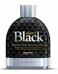 Supre Sheer Black Tanning Lotion - LuxuryBeautySource.com