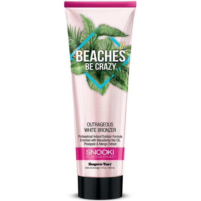 Supre Tan Snooki Beaches Be Crazy Tanning Lotion - LuxuryBeautySource.com