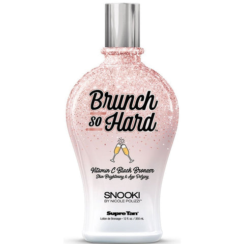 Supre Tan Snooki Brunch So Hard Black Bronzer Tanning Lotion - LuxuryBeautySource.com