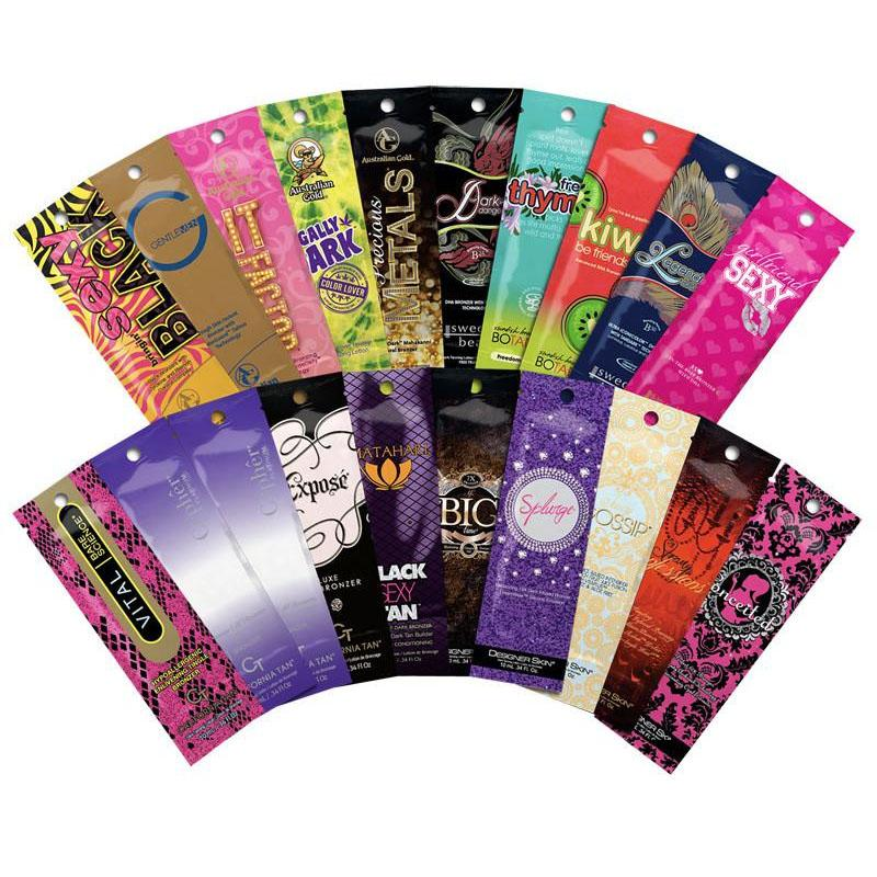 10 Tanning Samples - LuxuryBeautySource.com