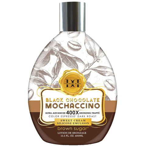 Tan Incorporated Black Chocolate Mochaccino Tanning Lotion - LuxuryBeautySource.com
