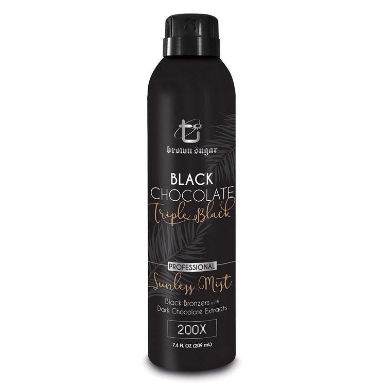 Tan Incorporated Black Chocolate Triple Black Sunless Mist - LuxuryBeautySource.com