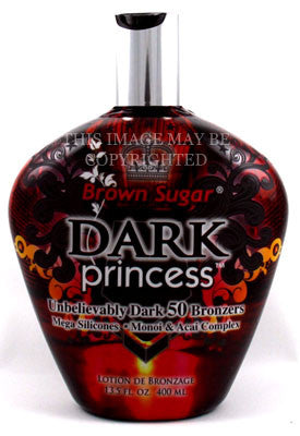 Tan Incorporated Brown Sugar Dark Princess Tanning Lotion - LuxuryBeautySource.com