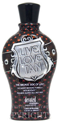 Devoted Creations Live Love Tan Tanning Lotion - LuxuryBeautySource.com