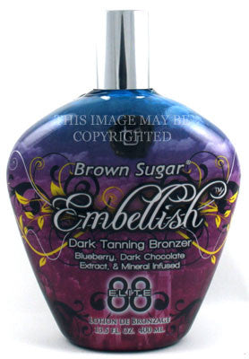 Tan Incorporated Brown Sugar Embellish Tanning Lotion - LuxuryBeautySource.com