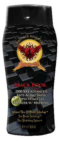 Immoral Black Book 2000 XXX Advanced Anti-Aging Tanning Bronzer - LuxuryBeautySource.com