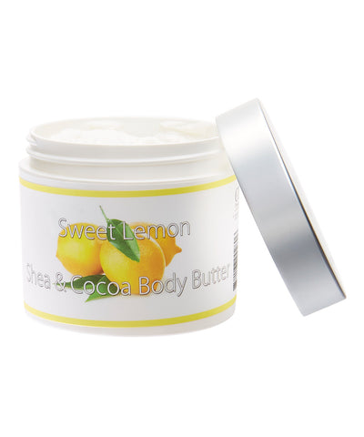Fresh & Natural Shea & Cocoa Body Butter 4Oz - LuxuryBeautySource.com