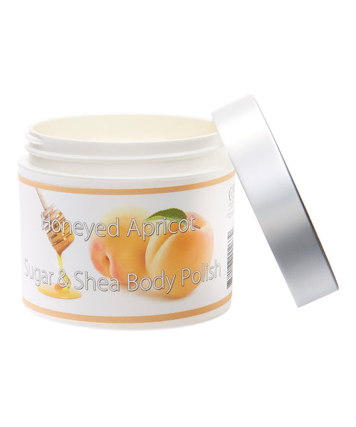 Fresh & Natural Sugar & Shea Body Polish - LuxuryBeautySource.com