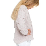 Woven Heart Girls Cozy Sweater