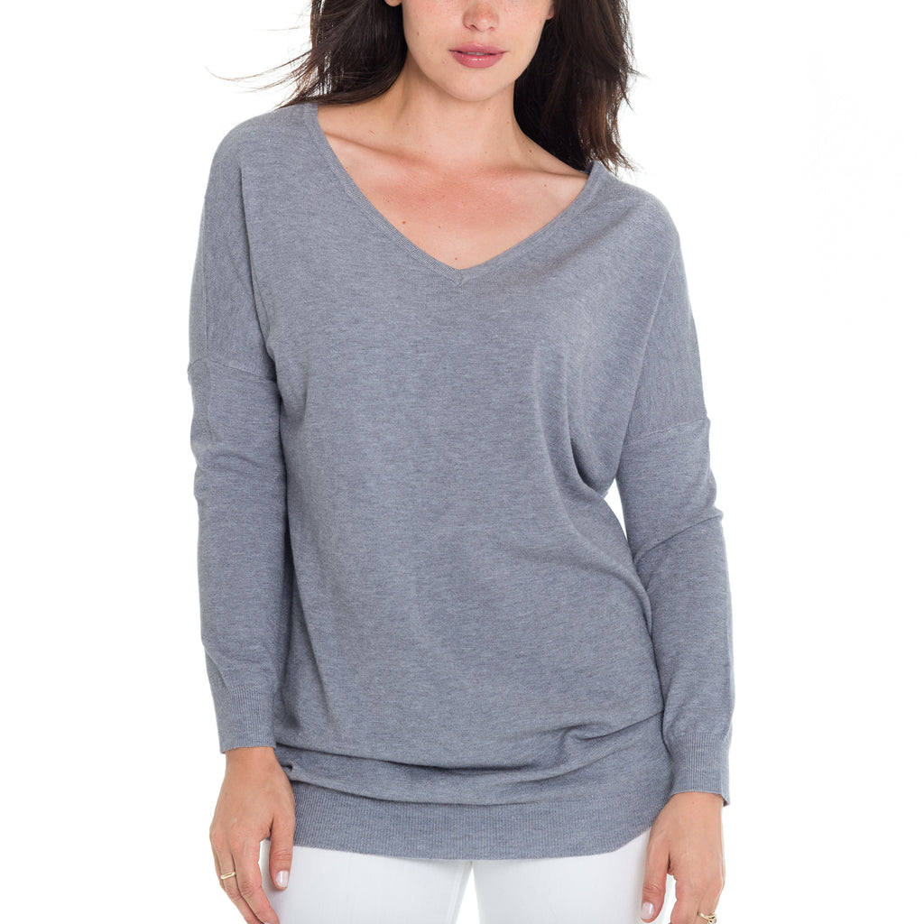 Woven Heart Lucy Ladder Back Sweater